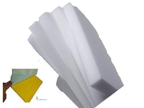 JUMBO blanco, 15 tlg Set con una esponja suciedad 10 bloques de goma esponja XXL