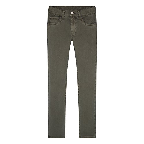 Arizona Boys Jean (Levi's Big Boys' Slim Fit Jeans, Olive Night, 12)
