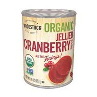 Woodstock Organic Jellied Cranberry Sauce, 14 Ounce -- 24 per case.