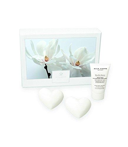 Acca Kappa Gift Set - White Moss Hand Cream and Heart ()
