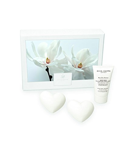 Acca Kappa Gift Set - White Moss Hand Cream and Heart Soap