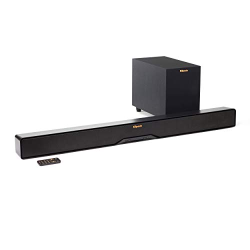 Klipsch R-4B Reference 2-Way Soundbar With 6.5 Wireless Subw
