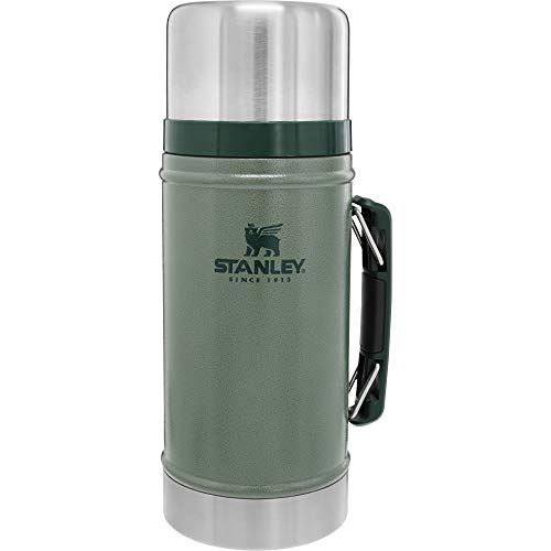 Stanley Legendary Classic Vacuum Insulated Food Jar Hammertone Green 1.0qt