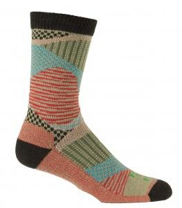Farm to Feet Valle Crucis Patchwork Socks, Earth, Medium