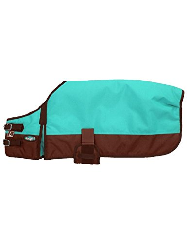 Tough 1 600D Dog Blanket S Turquoise by Tough 1