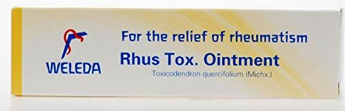 - (6 PACK) - Weleda Rhus Tox Ointment - For Rheumatic Pain | 25g | 6 PACK - SUPER SAVER - SAVE MONEY