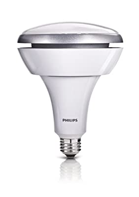 Philips 423756 14.5-Watt (75-Watt) BR40 LED Indoor Flood Light Bulb, Dimmable
