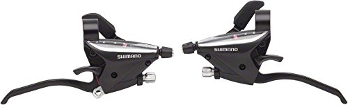 SHIMANO ST-EF65 Shift/Brake Set (Black, 3×8 Speed)
