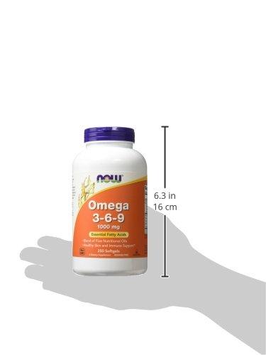NOW Omega 3-6-9 1000 mg,250 Softgels