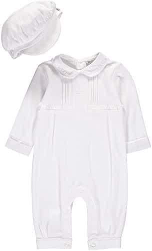 Baby Boy Elegant Christening Outfit With Hat