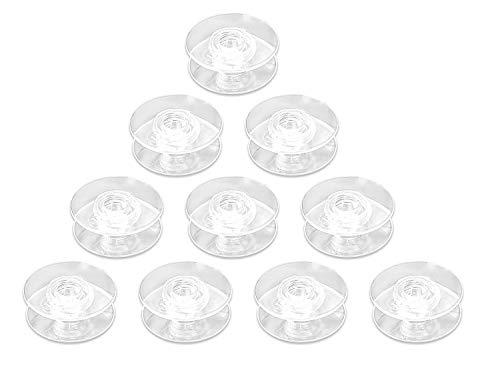 - (10 Pack) BOBBINS Plastic Pfaff Quilt Expression 4.0 4.2 Performance 5.0