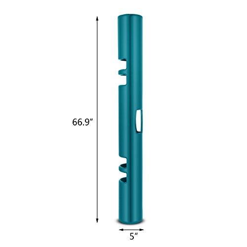 VEVOR ViPR Fitness Tube Functional Training Rubber VIPR Weight Bar Fitness Training Tube for Loaded Movement Training (6kg Green)