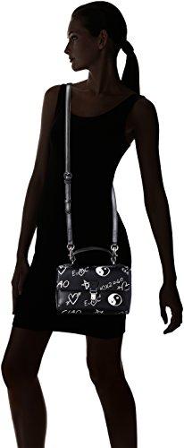 Love Moschino JC4065PP14LH Bolso Con Bandolera Mujer Negro (Black)