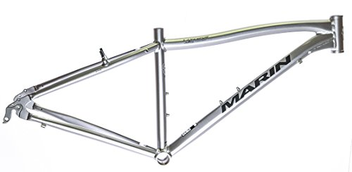 19'' MARIN LARKSPUR 700C Hybrid City Bike Frame Silver Aluminum NOS NEW by Marin