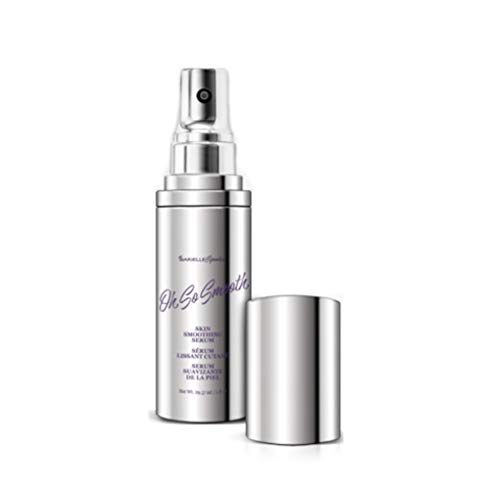 Oh So Smooth Skin Smoothing Anti-Aging Face Serum 1 Ounce infused with Pracaxi Oil of Brazil, Deeply Hydrates While Evens Skintone, Pore Minimizer, Lightens Age Spots, with Argan and - Smoothing Smooth Serum