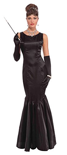 Forum Vintage Hollywood Collection High Society Lady Costume, Black, ()