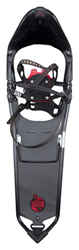 Atlas Snowshoes Spindrift, Black/Red, Size (Full Traction Suspension Lift)
