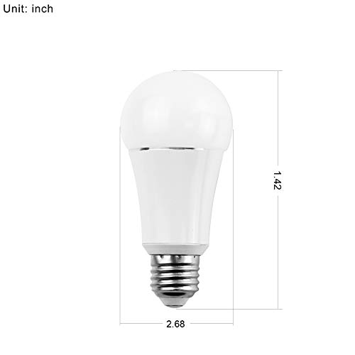 Smart Bulb by MartinJerry | Compatible with Alexa, Smart Home Devices Works with Google Home, No Hub required, Easy installation and App control as Smart Switch On/Off / Timing (1 Pack) by Martin Jerry (Image #5)