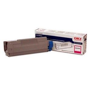 Okidata 43324418 Toner Cartridge for C6100 Series, 5000 Page Yield, Magenta