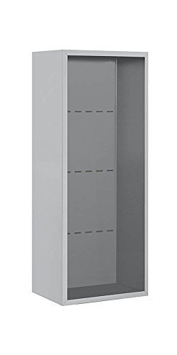 Salsbury Industries 3810S-ALM Surface Mounted Enclosure for 3710 Single Column, Aluminum by Salsbury Industries