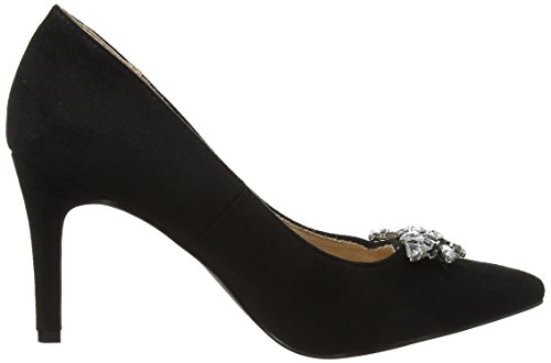 Closed Women's Dorothy Black Toe Black Embellished Perkins Gemm Heels qIw5pwCPR