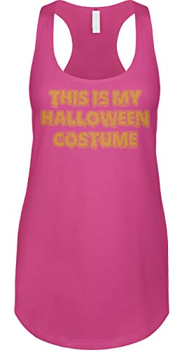 (Blittzen Womens Tank This is My Halloween Costume - Funny, XL,)