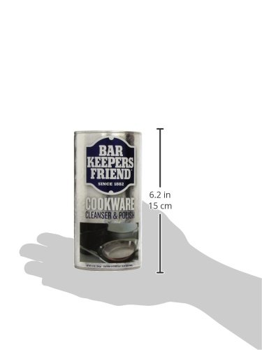servaas lans bar keepers friend cookware cleaner 12 oz import it all. Black Bedroom Furniture Sets. Home Design Ideas