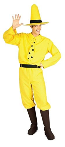 Rubie's Costume Curious George Man In The Hat, Yellow, One (Kid N Play Costume Halloween)