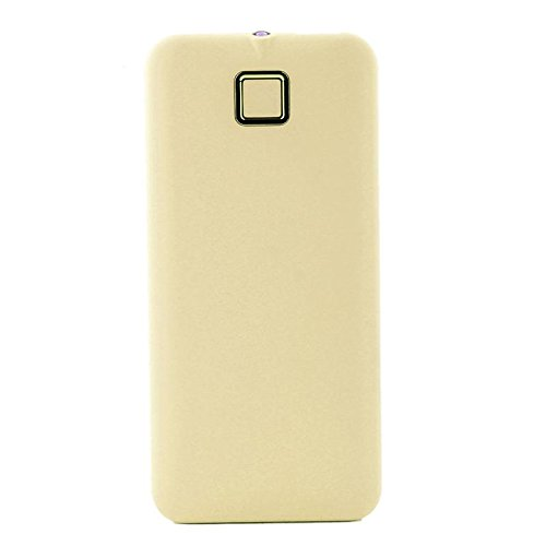 YOUNGFLY Fashion 20000mah External Power Bank Backup Dual USB Battery Charger For Cell Phone, Yellow