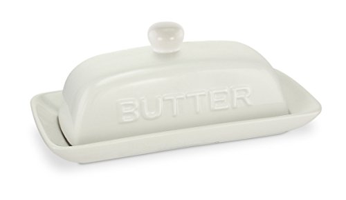 milk glass covered butter dish - 3