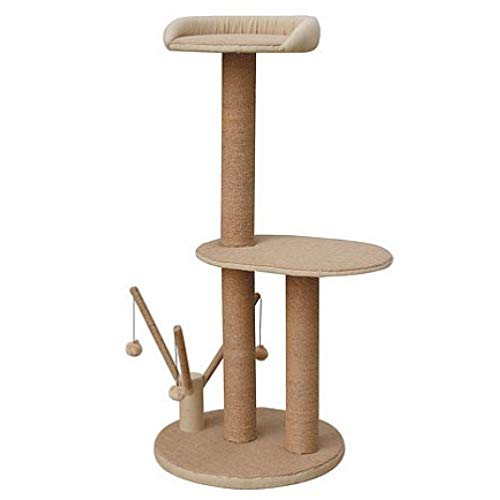 Pet Pals Citadel 2-Level Cat Tree 45 High (3 Pack)