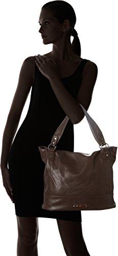 Little Marcel Id03 - Shoppers y bolsos de hombro Mujer Marrón (Brown)