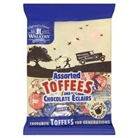 Assorted Royal Toffees (Walkers Assorted Nonsuch Toffee/ Eclair 150g)