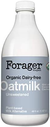 Forager Project, Organic Unsweetened Oatmilk, 48 Fl Oz