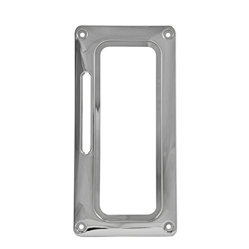 B&M 80820 Chrome Plastic Shifter Cover