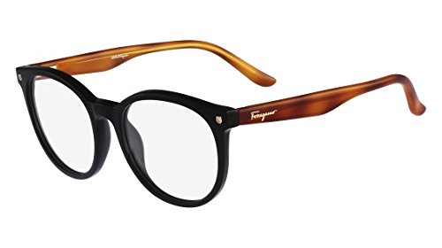 Amazon.com: SALVATORE FERRAGAMO Eyeglasses SF2686 001 Black 51MM ...