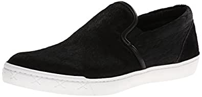Steve Madden Men's Gunman Fashion Sneaker,Black Pony,12 M US