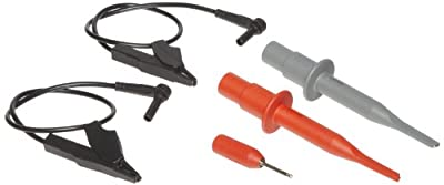 Fluke RS120-III 6 Piece Replacement Accessory Set, For STL120-III and VPS40-III Shielded Test Leads
