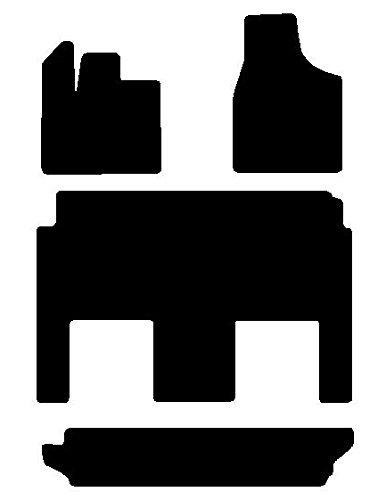 Chrysler Town Country Black Custom Fit Touring Carpet Floor Mats Stow N Go 4 Pc Set 2012 2013 2014 2014 12 13 14 15