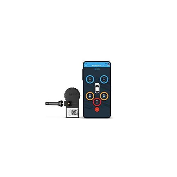 TREEL Car/SUV Smart TPMS LE Bluetooth Valve Type- Single Sensor