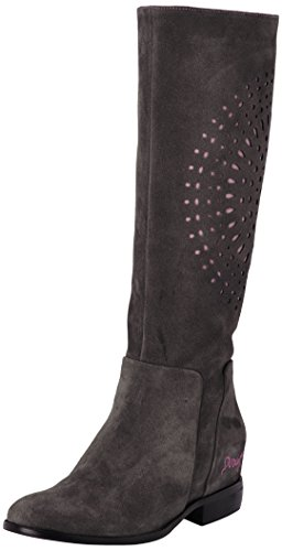 2022 Africa Women Grey Boots Alquitran Desigual nHxBqRFB