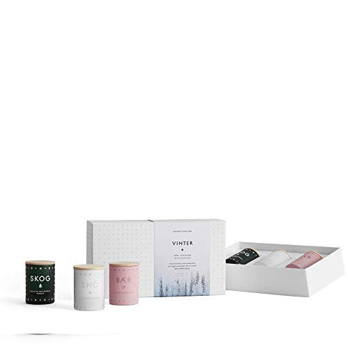 SKANDINAVISK Vinter (Winter) Mini Candle Gift Set 3 x 1.94 Oz by SKAN D · NA VISK (Image #1)