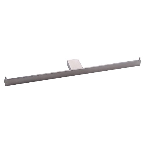 (KES Bath Double Roll Toilet Paper Holder Towel Hanger Storage Organizer Wall Mount Dual Tissue Hook SUS 304 Stainless Steel, Brushed Finish, A21582-2)