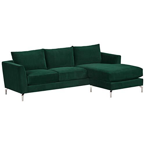 Rivet Emerly Modern Sofa Chaise, 96