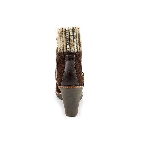 Naturalizer Kenning - Botas de cuero para mujer marrón marrón