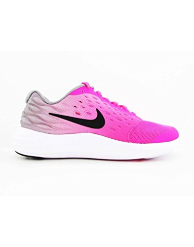 NIKE Lunarstelos GS Youth Running Trainers 844974 Sneakers Shoes 5 M US Big Kid Pink Blast Black White 600