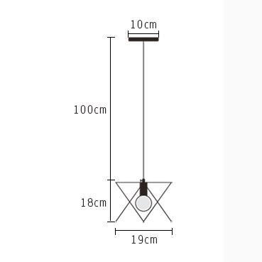 Kai lámpara de techo/Plafón Lámpara colgante de diamante Araña de ...
