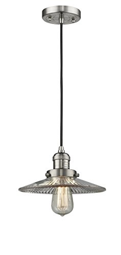 Innovations Lighting 1 Light Vintage Dimmable LED Halophane 10 inch Mini Pendant ()