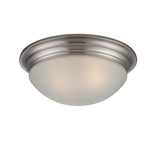 Savoy House 6-782-13-SN Two Light Flush Mount