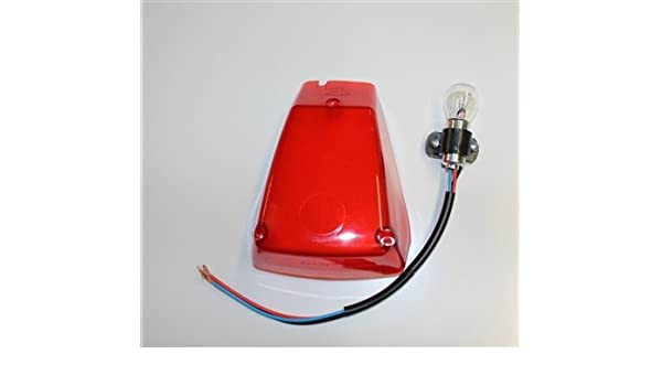 Tail Light Lens with Bulb and Socket Authentic Preston Petty Products